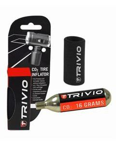 Trivio CO2 ADAPTER PRO PATROON 16 GRAM NEOPRENE HULS